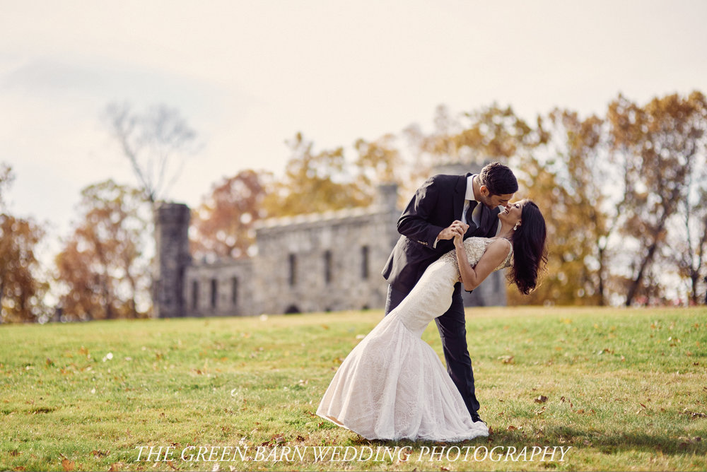 Kristin and Chris's Fall Post Wedding Photo session at Winnekenni Castle in Haverhill, Massachusetts