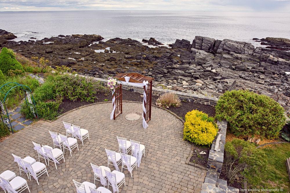 Maine coast wedding, Cape Elizabeth