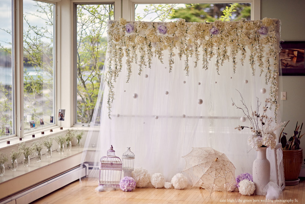 Pinterest worth photo backdrop DIY wedding ideas