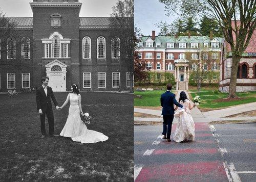 WEDDING PHOTOGRAPHY / Angela & Josh's Intimate Spring Garden