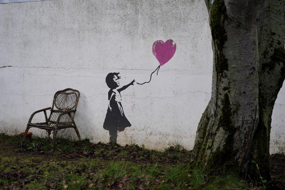 Banksy Live in Reykjavik
