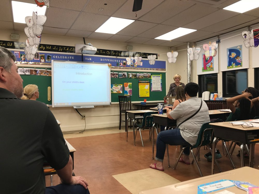 Back to School Night - Parents meet the teachers and learn about St. Roch's mission, goals and opportunities for the year.