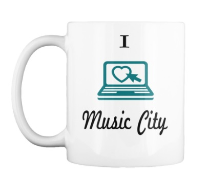 iblog Music City Mug $14.99