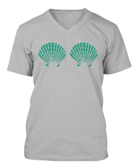 Mermaid in Training Tee $23.99