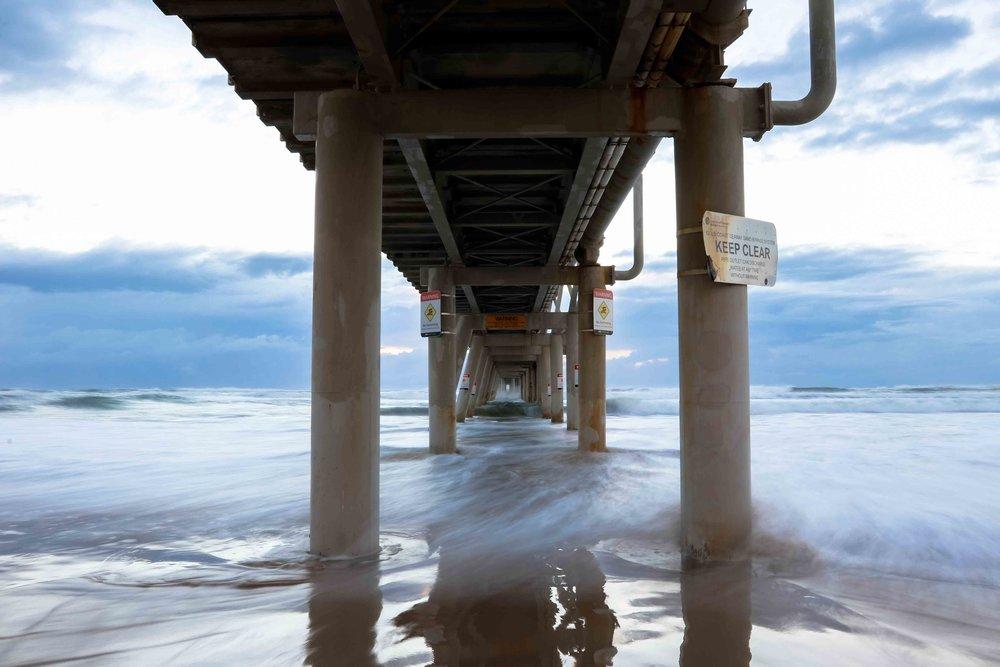 Under the pier // 5:45am