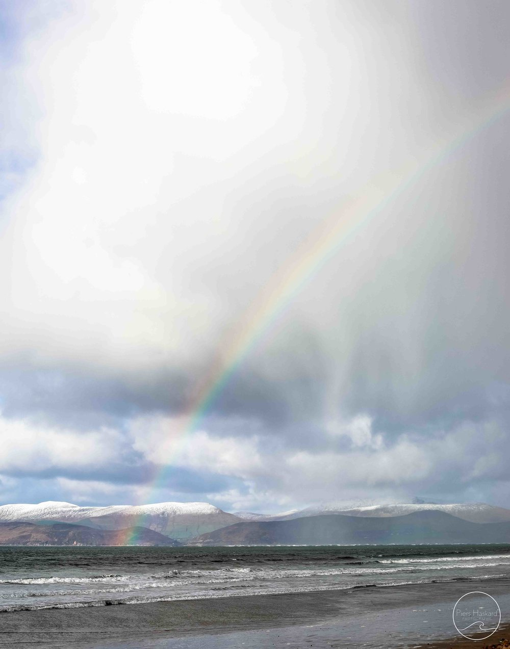 The luck of the Irish. Surely there were leprechauns at the end of this one. // Rossbeigh Beach.