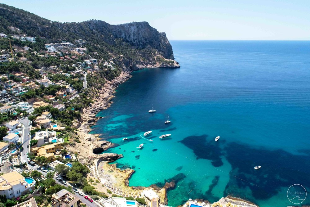 'Cala Llamp' - available in the 'Aerials' category.