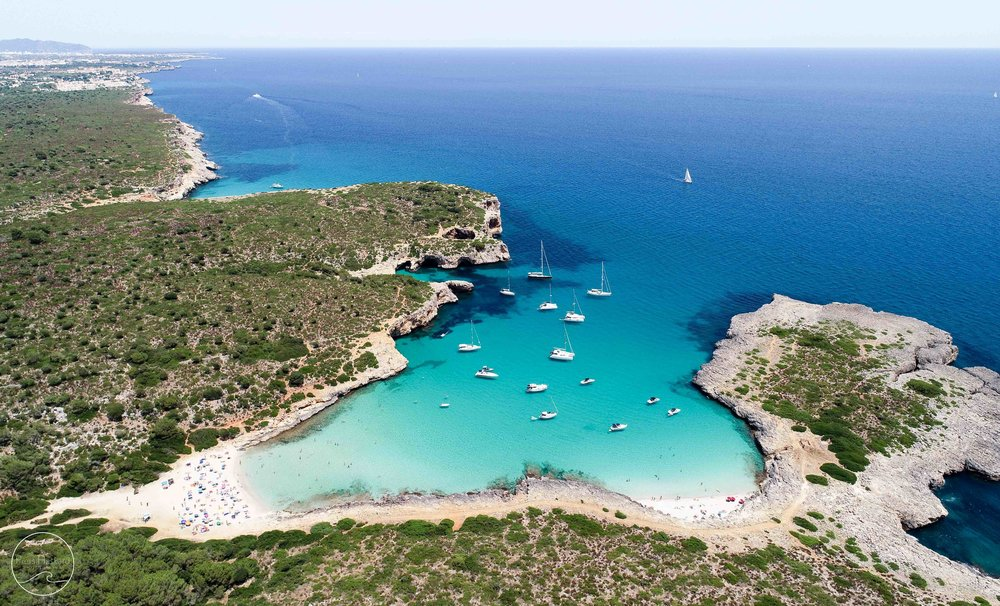 'Cala Varques' - available in the 'Aerials' category.