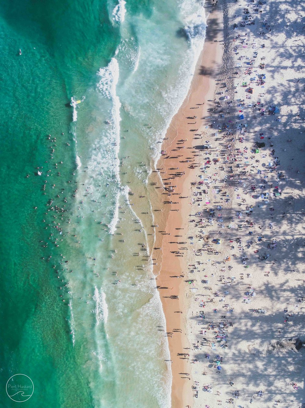 'North Steyne Crowds' - Available in the 'Aerials' category.   BUY