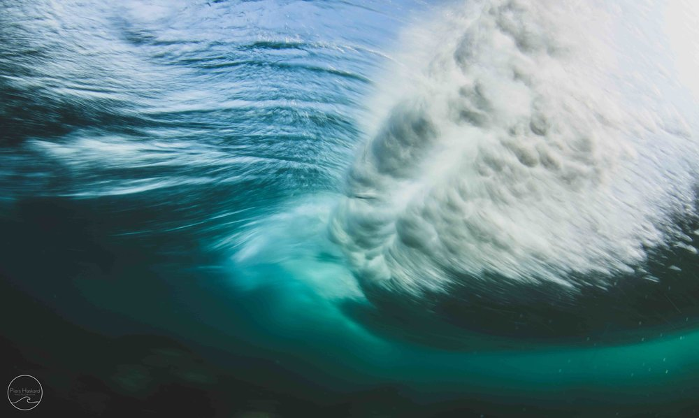 Where my love for underwater photography all began. Underneath a breaking wave.