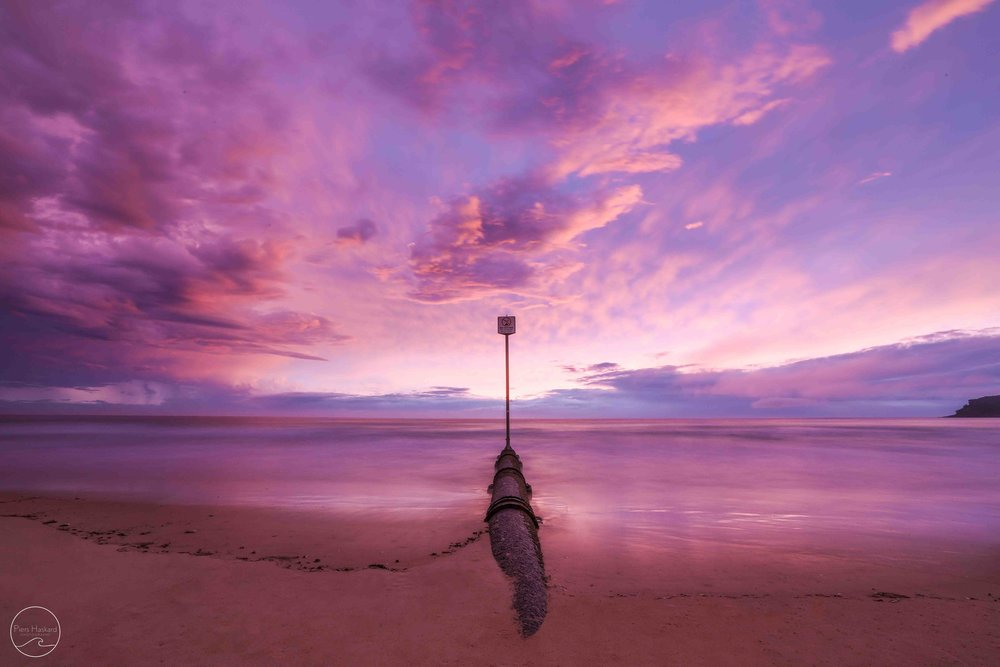 As the sun slowly edged its way closer to the horizon the sky began to light up. Bright pinks were strewn across the sky…  'Dreamscape' - Available in the 'Landscape' category.   BUY