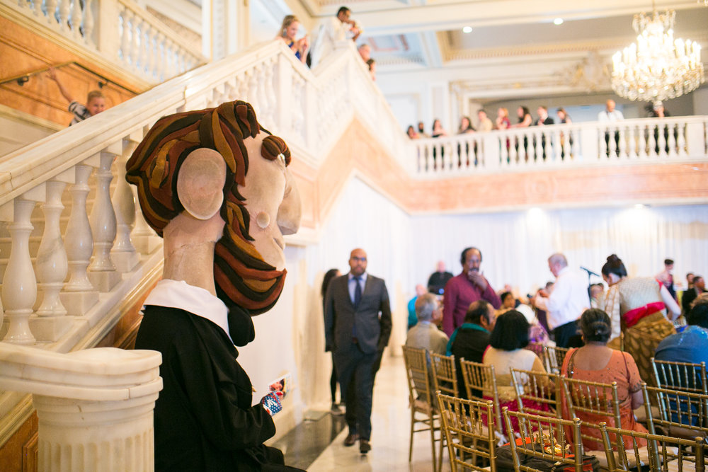 nationals mascots wedding