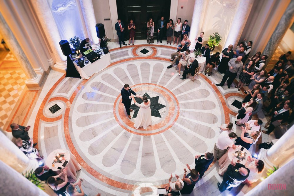 Carnegie Institute wedding