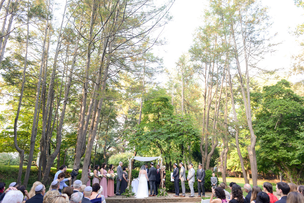 jewish outdoor wedding