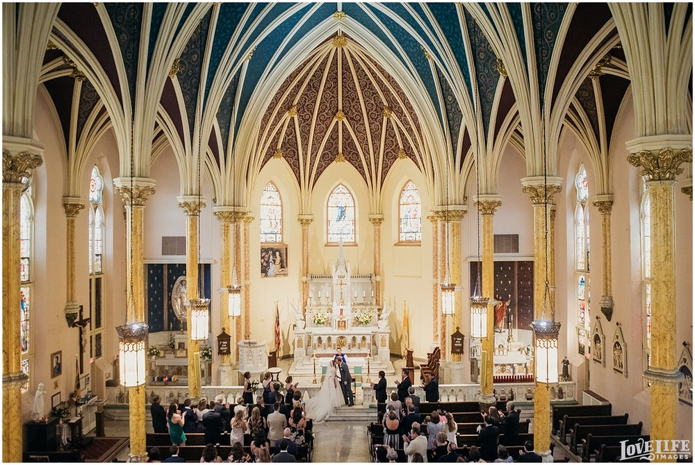 St. Mary Mother of God Wedding