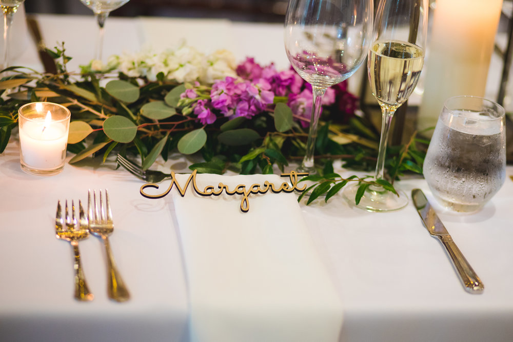 unique wedding placecards