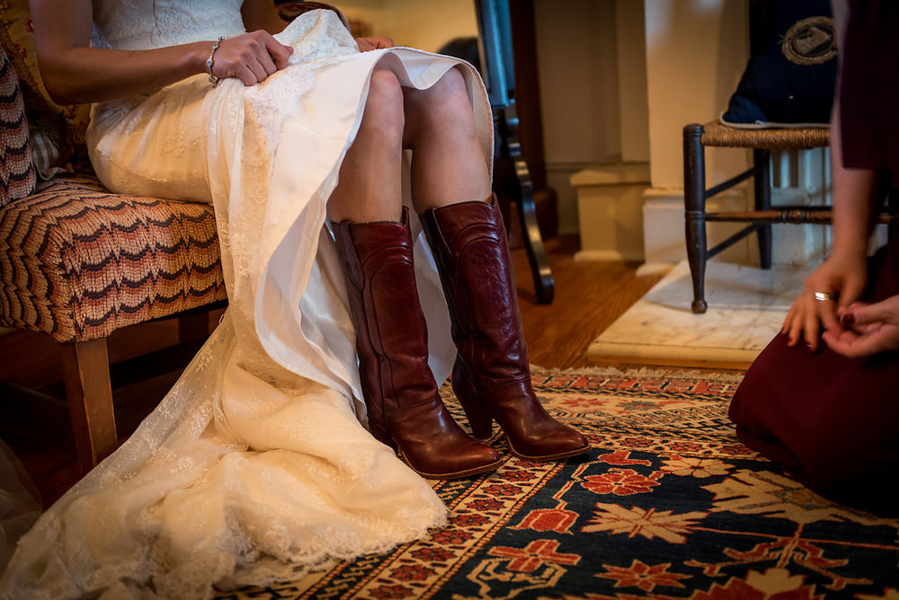 brown wedding cowboy boots