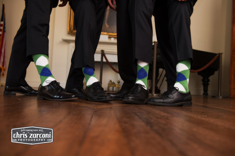 Mens wedding socks