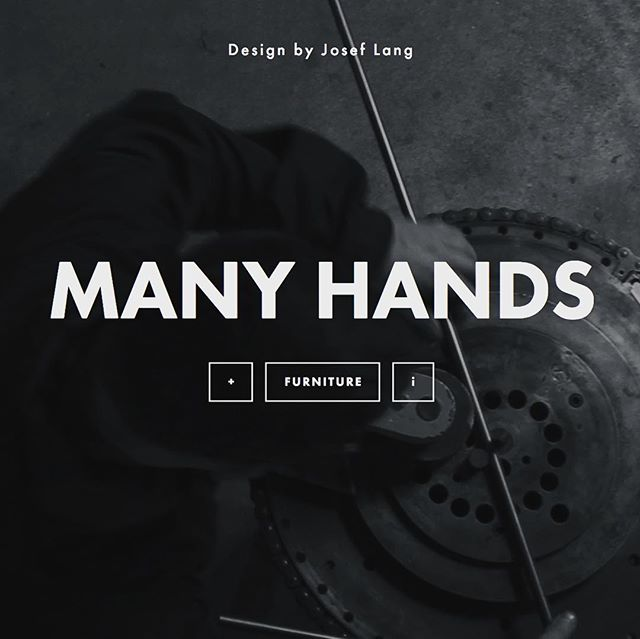 After a website revamp, you can now signup for updates from Many Hands! (link in description). #furnituredesign #designbuild #wefancy @squarespace