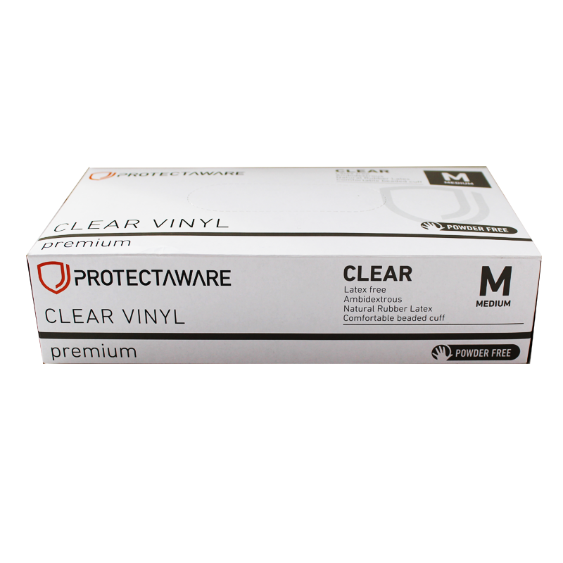 Clean and Spill Supplies — Protectaware Premium Clear Vinyl