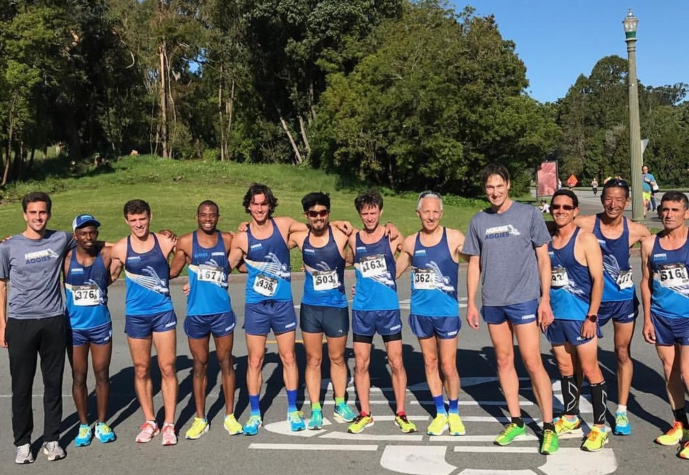 Men's HOKA ONE ONE Aggies Running squad