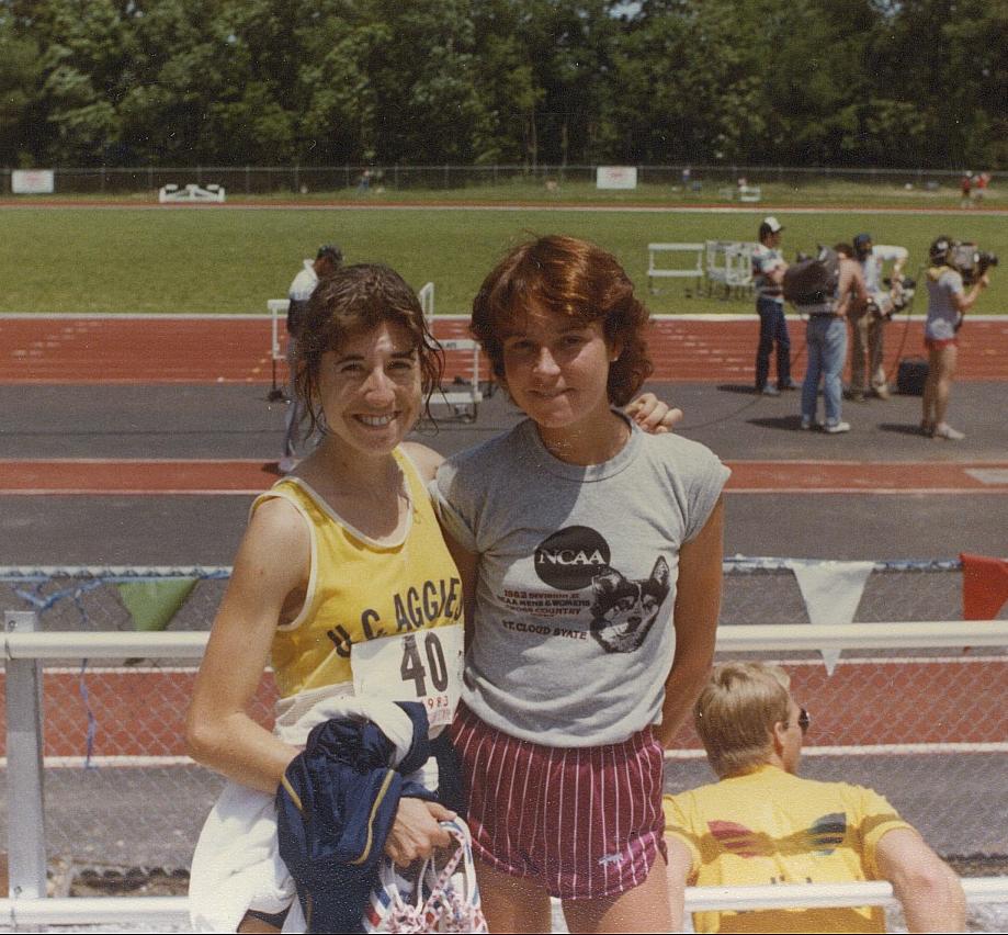 Patti and Linda - 1982