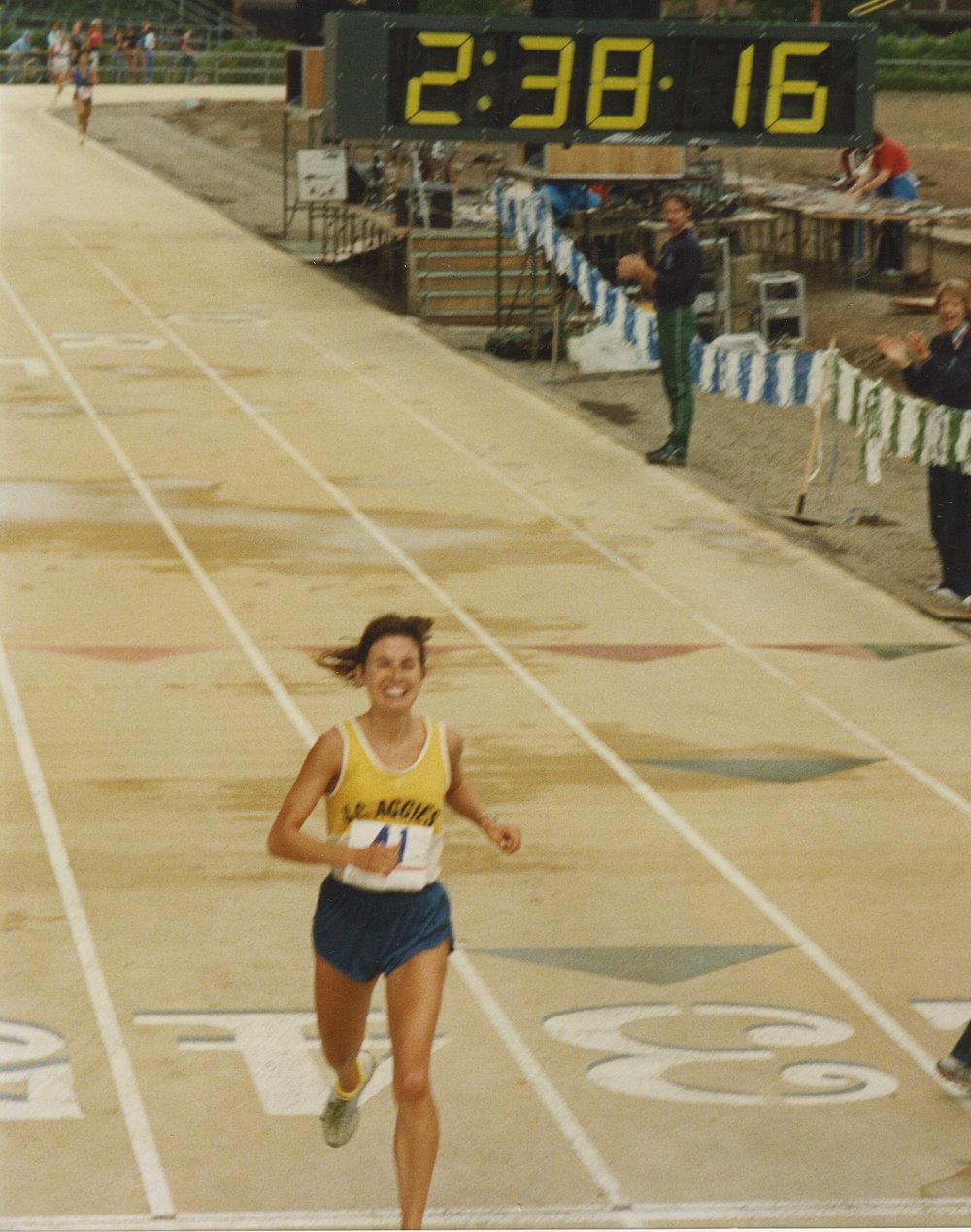 Qualified! - Nike OTC Marathon - 1983