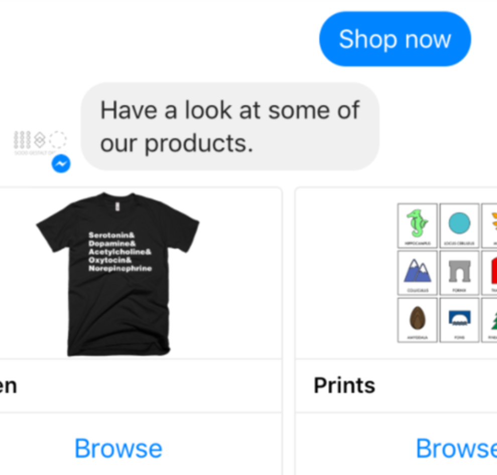 Shopify // Messenger Chatbot