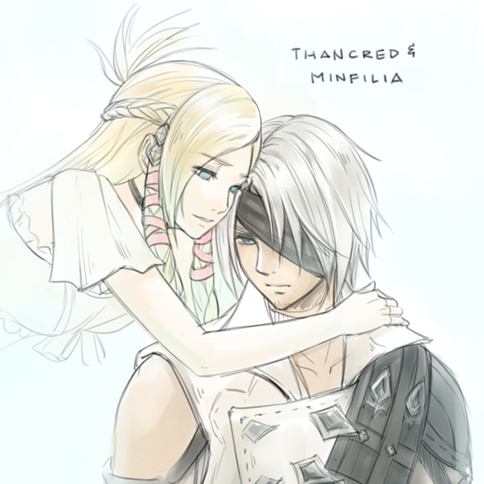Final Fantasy XIV : Thancred & Minfilia 2017