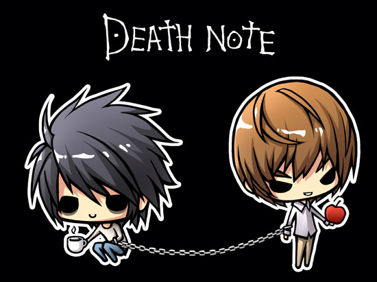 Death Note chibis 2007