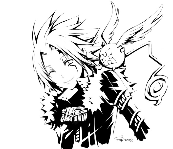 D.Gray-man : Allen & Tim 2008