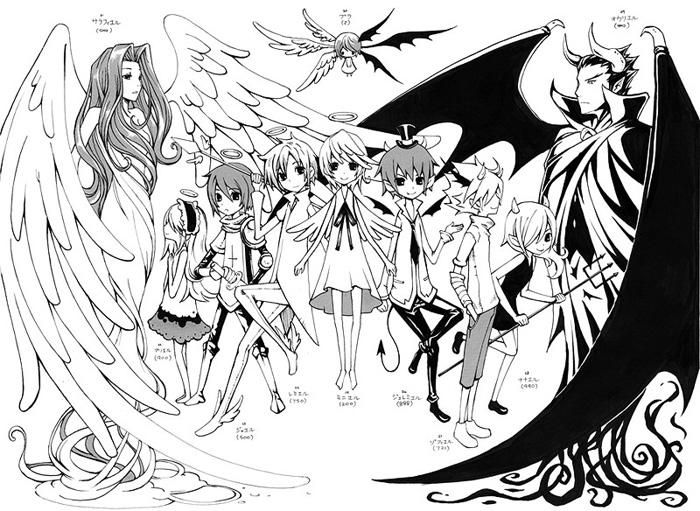 天使と悪魔の10人 ten angels and demons 2009