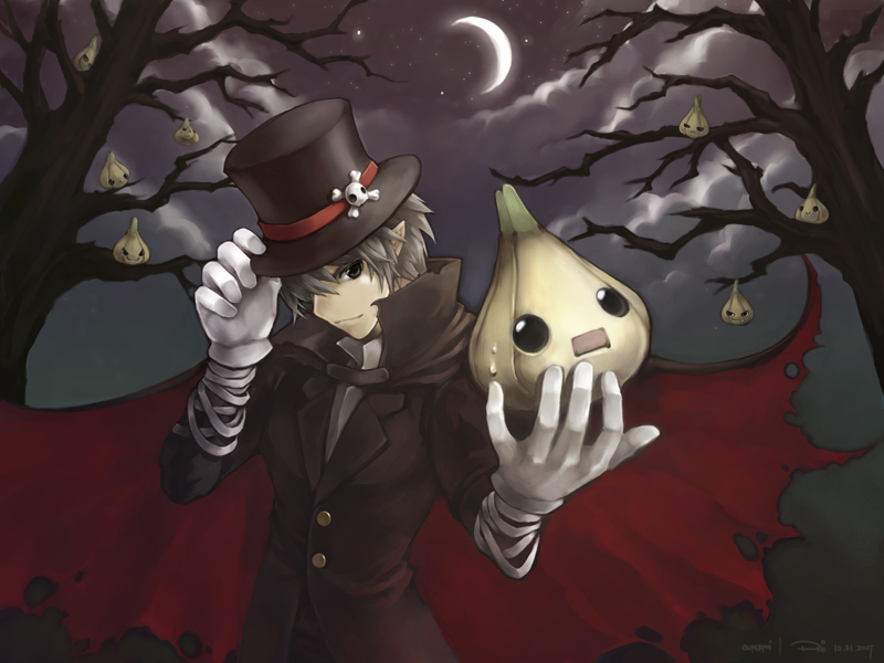Gaia Online Garlic Halloween にんにくハロウィーン 2007