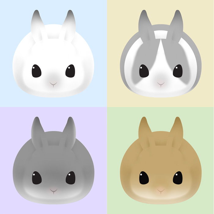 round rabbits 2013