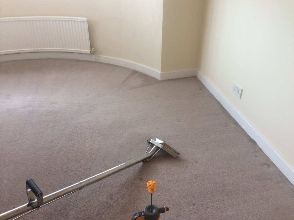 CARPET CLEANING.    Minimum order    £45    Living room from  £25    Bedroom from        £20    Single room from   £15    Staircase from         £30