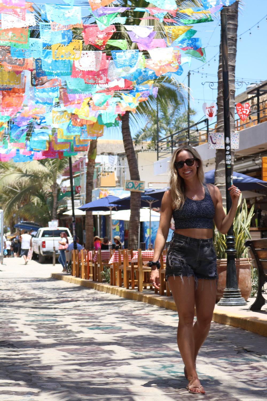 The beautiful streets of Sayulita