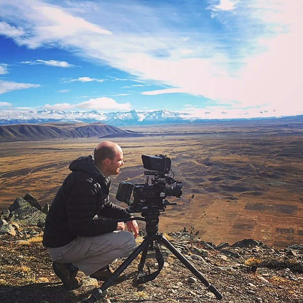 Not a bad place to film an #alluvialfan #mackenziecountrynz