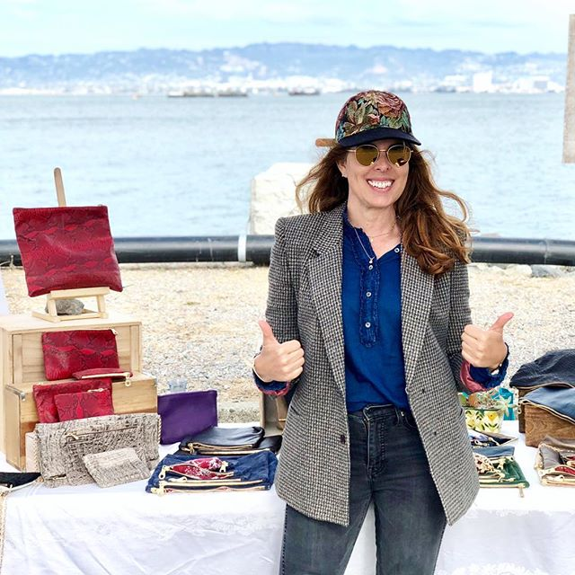 Another beautiful day on Treasure Island! It was was super fun meeting so many 😎 peeps! Happy Monday!!