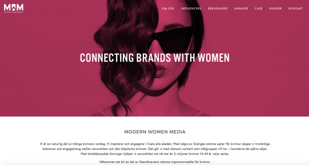 Nya hemsidan