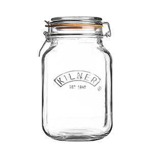 Glass Jars  _ Kilner