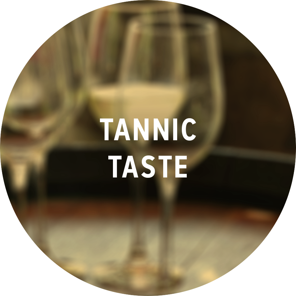 - Normally white wines don't have tannins, but oaked ones are different. If you feel your gums drying, for sure the wine is oaked.