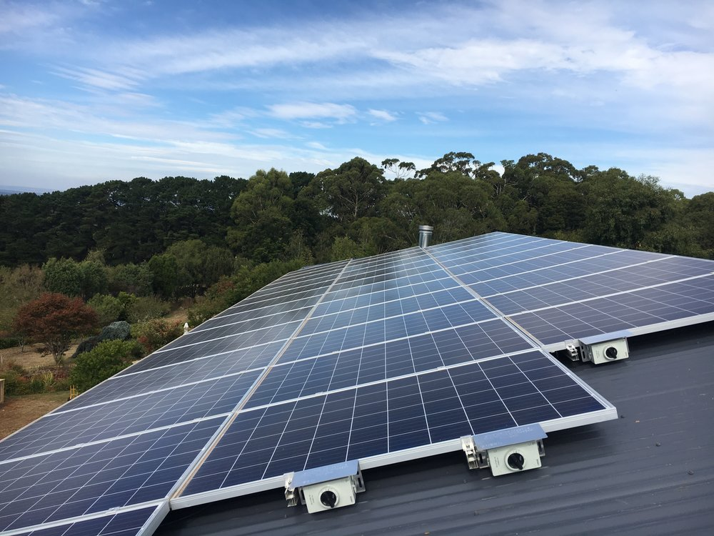 red hill,victoria - 10kW Solar System