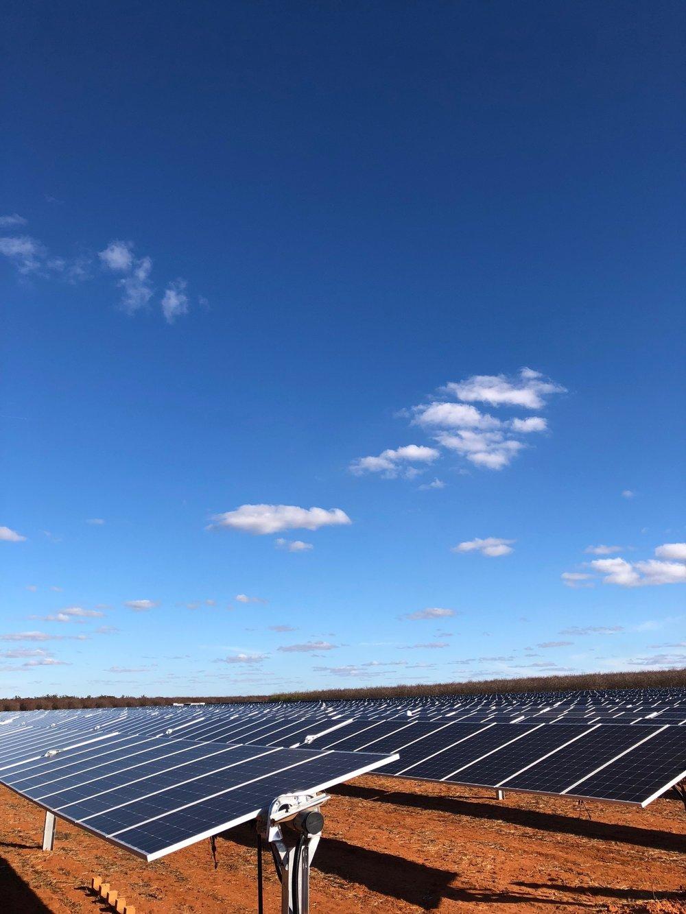 bannertonsolar farm,victoria - 100MW Solar Farm
