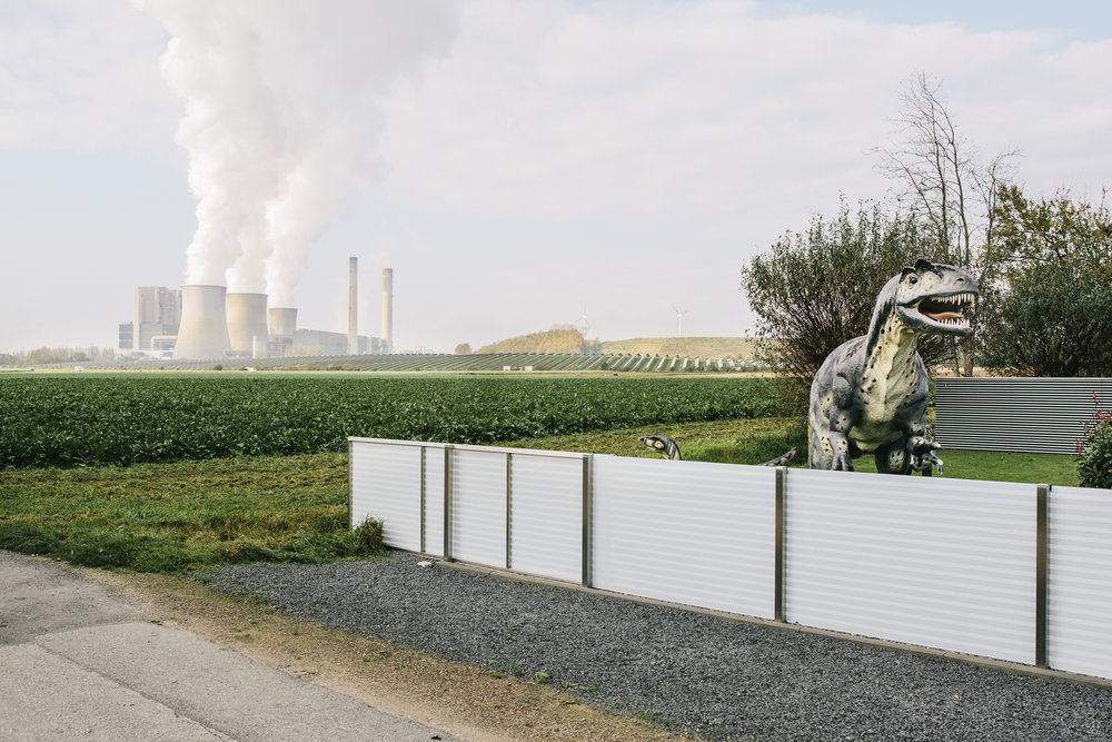 Weisweiller energy plant, photographed at the start of the Climate Summit COP23 in Bonn, is one of the dirtiest energy plants of Europe because of the use of browncoal.