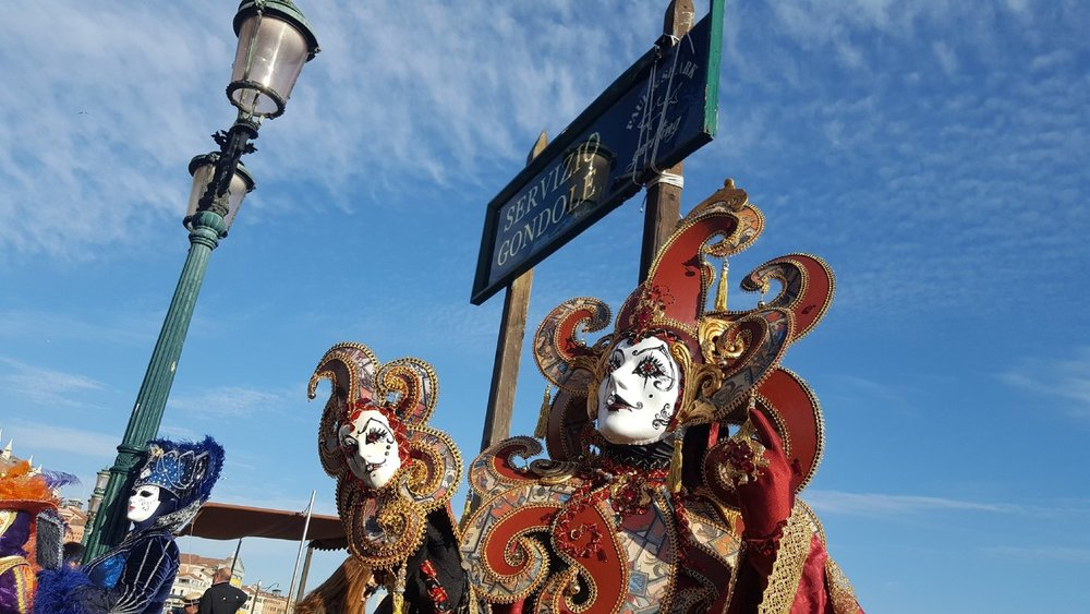Venice Carnival by the sea. Credit: I'm|Possible, during our last incentive tours.