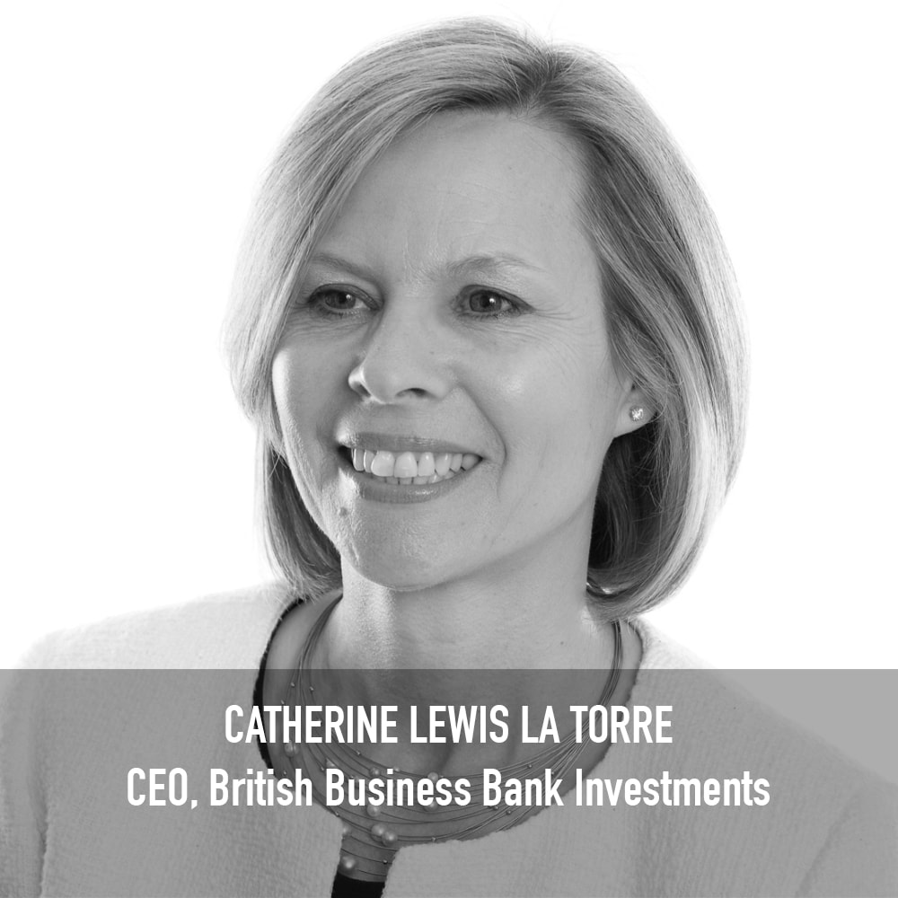 Catherine Lewis La Torre - CEO, British Business Bank Investments