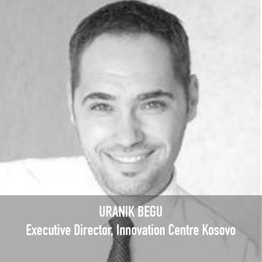 Uranik Begu - Executive Director Innovation Centre Kosovo