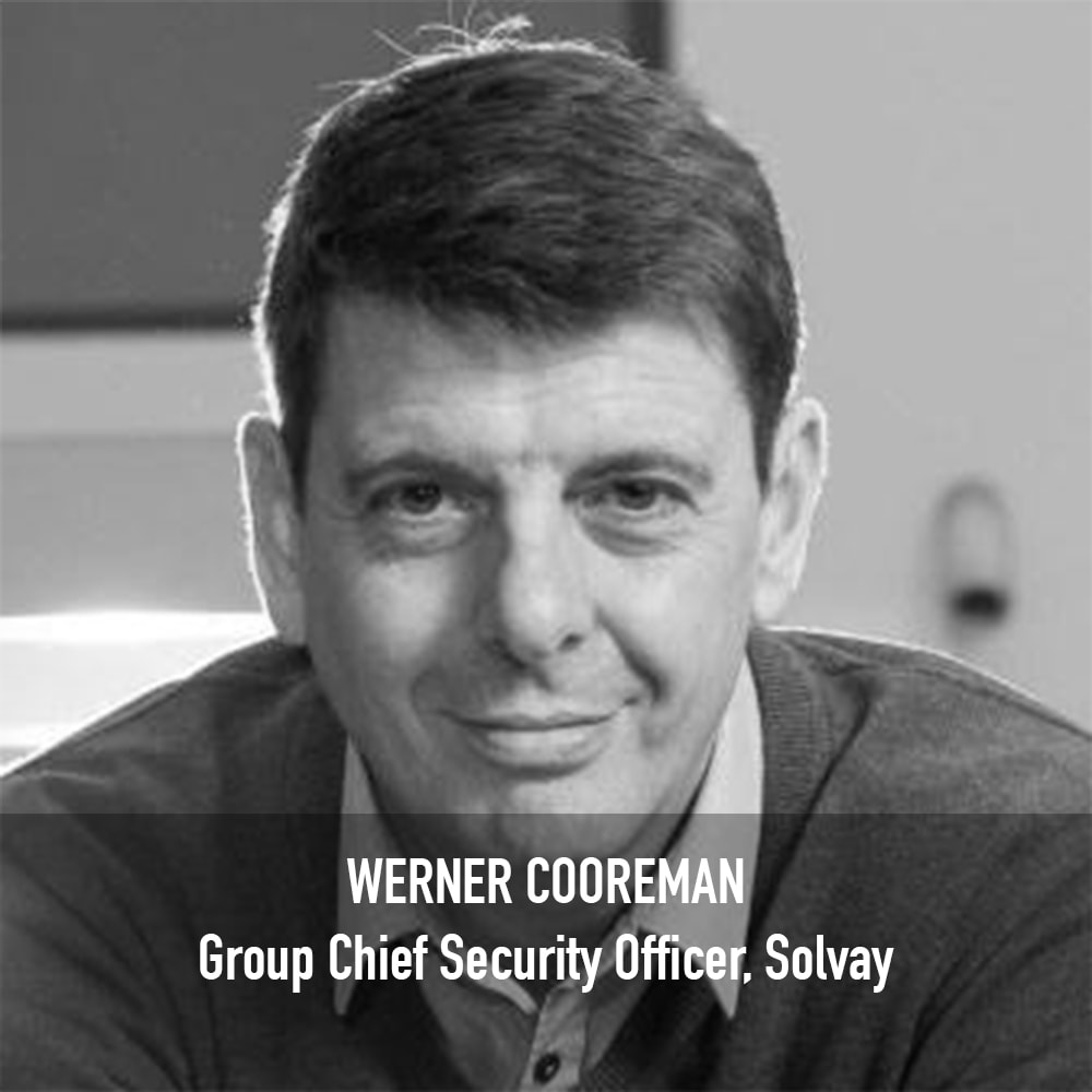 Werner Cooreman - Group Chief Security Officer Solvay