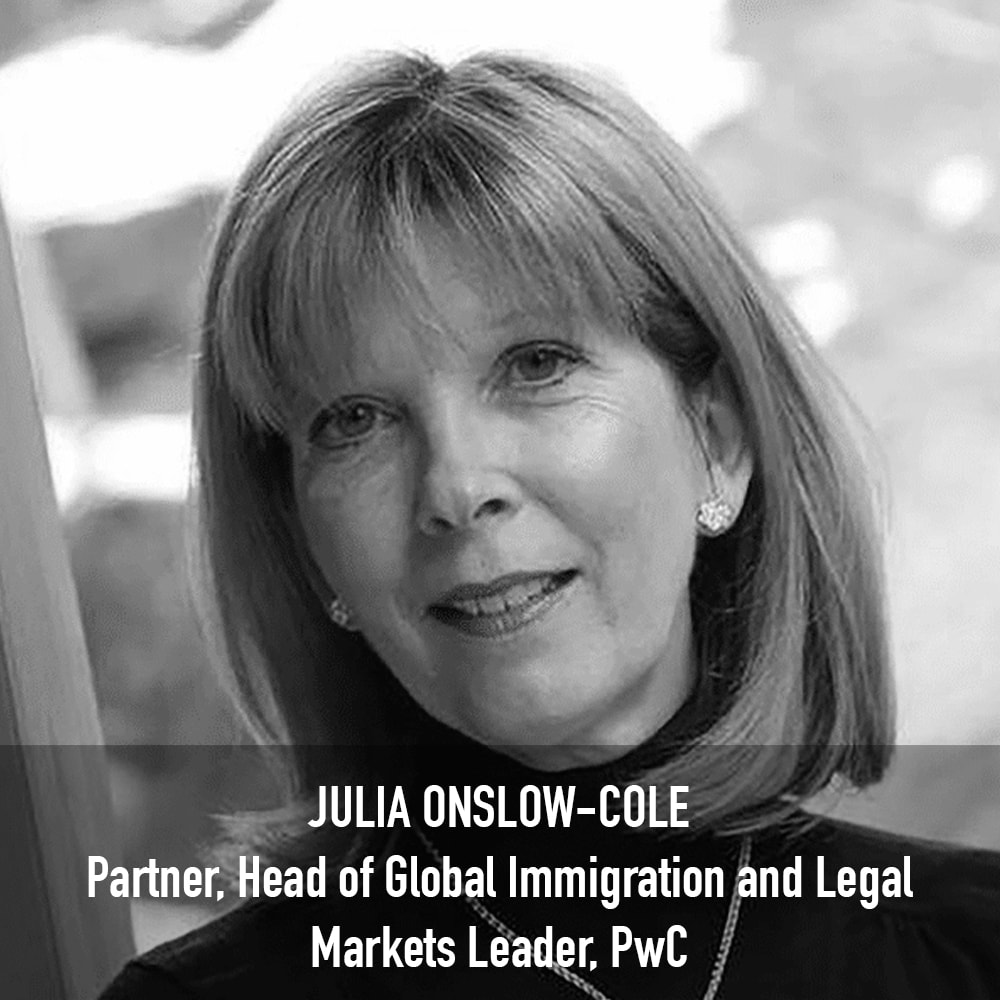 Julia Onslow-Cole - Partner, Head of Global Immigration and Legal Markets Leader PwC