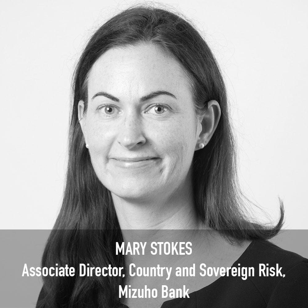 MARY STOKES - Associate Director, Country and Sovereign Risk, Mizuho Bank